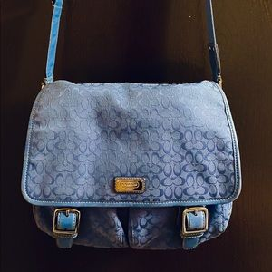 Coach medium satchel bag